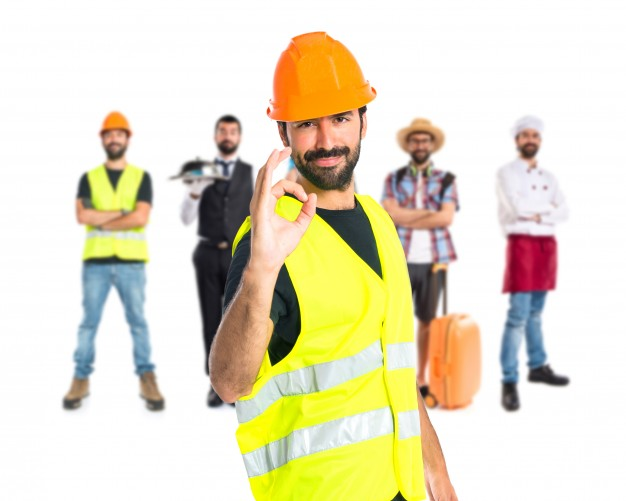 workman-making-ok-sign-over-white-background_1368-12026
